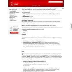 Install Java about GNU/Linux (ubuntu 12+) & browser (FF