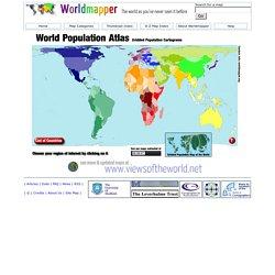 Worldmapper world population atlas the countries of the world as worldmapper world population atlas the countries of the sciox Images