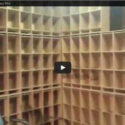 Cardboard DIY Inventory Storage Bins