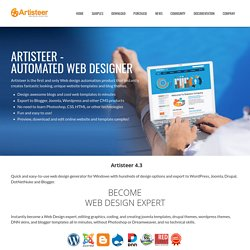 How to create website template edit with web page maker {{08.