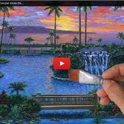 Comment Peindre Piscine Cours Complet Chute Du0027eauu2026