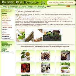 Bouncing Bear Botanicals, a major supplier of sacred plants, kratom