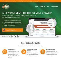 SEOquake - seo toolbar, plugin, seo extension for Mozilla