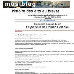 le pianiste histoire des arts analyse