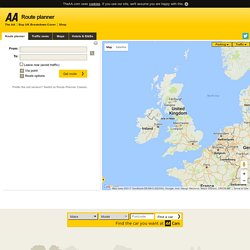 AA Route Planner: Routes, maps and directions   Pearltrees