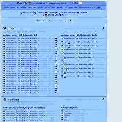8000 Übungen, Arbeitsblätter, Rätsel, Quiz, Tests, Puzzles, Aufgaben ...