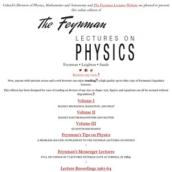 feynman lectures india