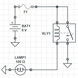 untitled pearltrees  relay in a circuit