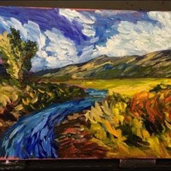 Painting Like Van Gogh Acrylic Painting For Beginners Clive5art