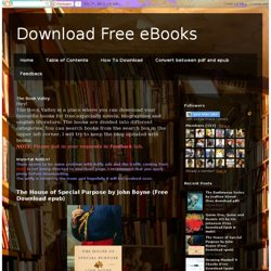 Ebooks pdfebooks pearltrees fandeluxe Image collections