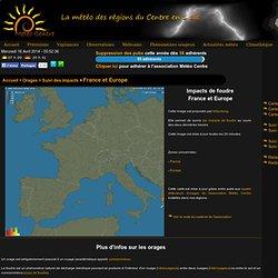 réseau alerte orage