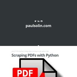 Python - chrisr7 | Pearltrees