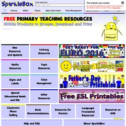 1000s FREE Primary Teaching Resources & Printables - EYFS, KS1 and