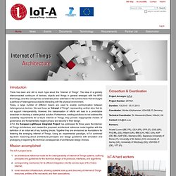 Internet Of Things   Architecture U2014 IOT A: Internet Ofu2026