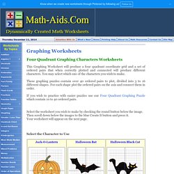 Four Quadrant Graphing Characters Worksheets Pearltrees Quadrant Graphs Worksheets Four Quadrant Graphing Characters Worksheets