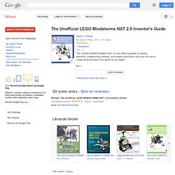 The Unofficial Lego Mindstorms Nxt Inventors Guide Pdf