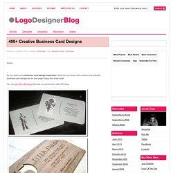 400 creative business card design inspiration pearltrees 400 creative business card design inspiration reheart Gallery