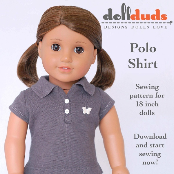 Doll Duds Polo Shirt pattern-1 | Pearltrees