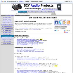 Diy audio projects do it yourself hi fi for audiophiles pearltrees diy and hi fi audio schematics solutioingenieria Choice Image