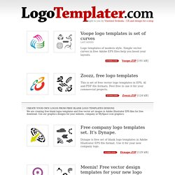 logotemplater com we create free blank logos templates designs