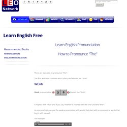 How To Pronounce The English Pronunciation Pearltrees