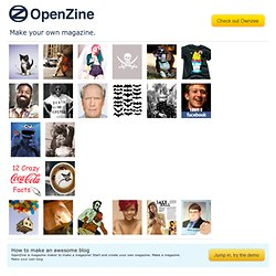 make your own magazine openzine com pearltrees