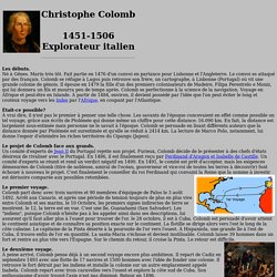 Les Voyages de Christophe Colomb | Pearltrees
