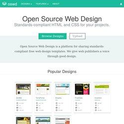 Open Source Web Design Download Free Web Design Templates