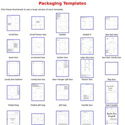 packaging templates pearltrees