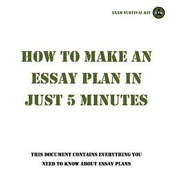 writing essays pearltrees  tsg essay plan template