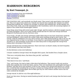Harrison bergeron thesis