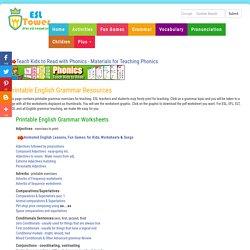 Esl Grammar Exercises Worksheets for all | Download and Share ...