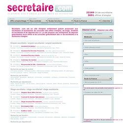Secretaire de direction  Exemple et modele de cv gratuit