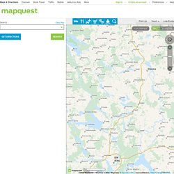 mapquest driving directions to and from