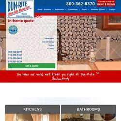 Cabinet Resurfacing Denver | Dun Rite Home Improvement