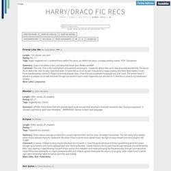 Harry Potter - Random recs | Pearltrees