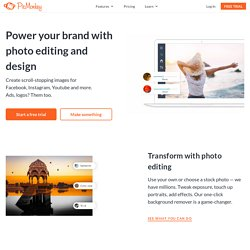 PicMonkey: Free Online Photo Editing | Pearltrees