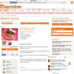 brownies aux noix marmiton