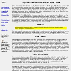 logical fallacies and the art of debate pearltrees