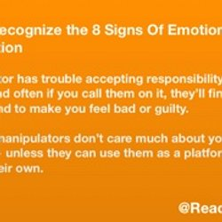 Signs of emotional manipulation in a relationship
