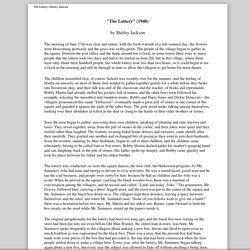 Short Stories for Middle School | Pearltrees
