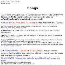 uke songs with ukulele chord diagrams - Blue Christmas Ukulele Chords