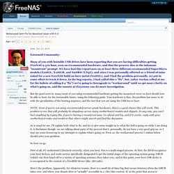 FreeNAS | Pearltrees