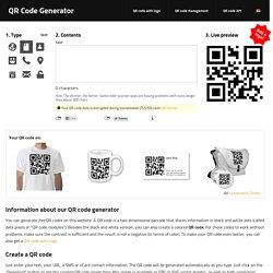 Generator qr code gratis create