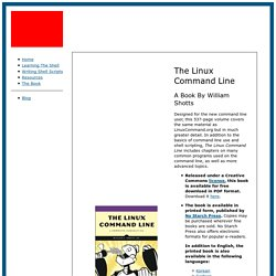 The Linux Command Line A Book By William Shotts