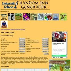 Random Inn Tavern Generator